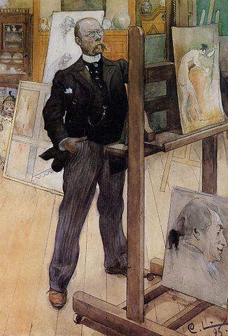 Carl Larsson Self Portrait