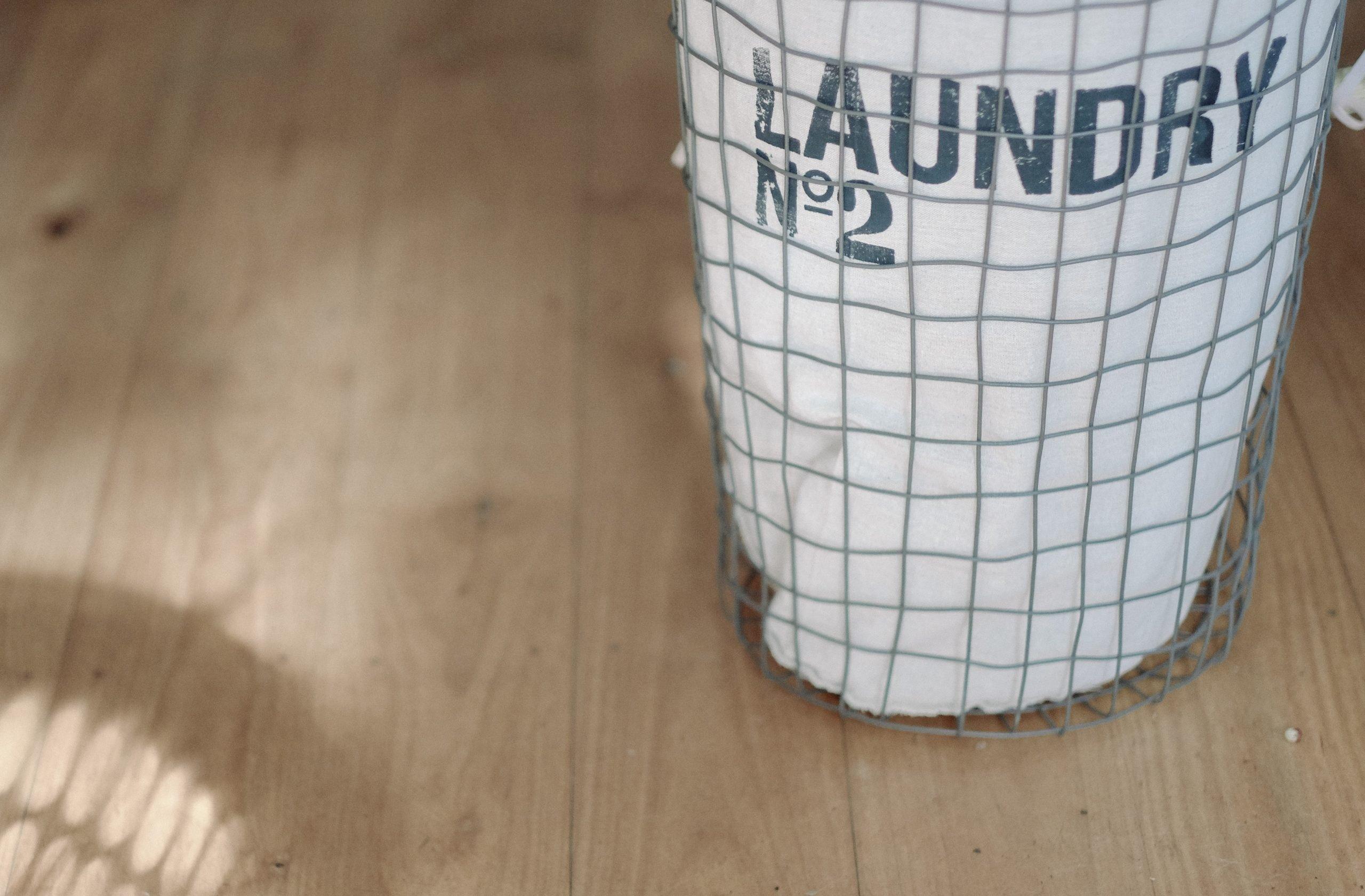 French Vintage Inspired Laundry Hamper
